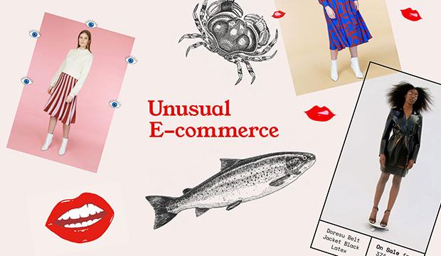 Подборка креативных и необычных  интернет-магазинов (e-commerce)
